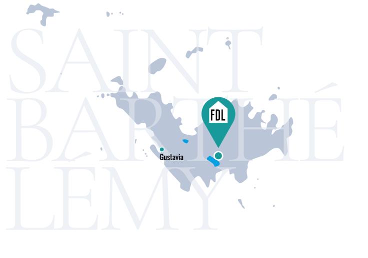Map SAINT BART Plan de travail 1