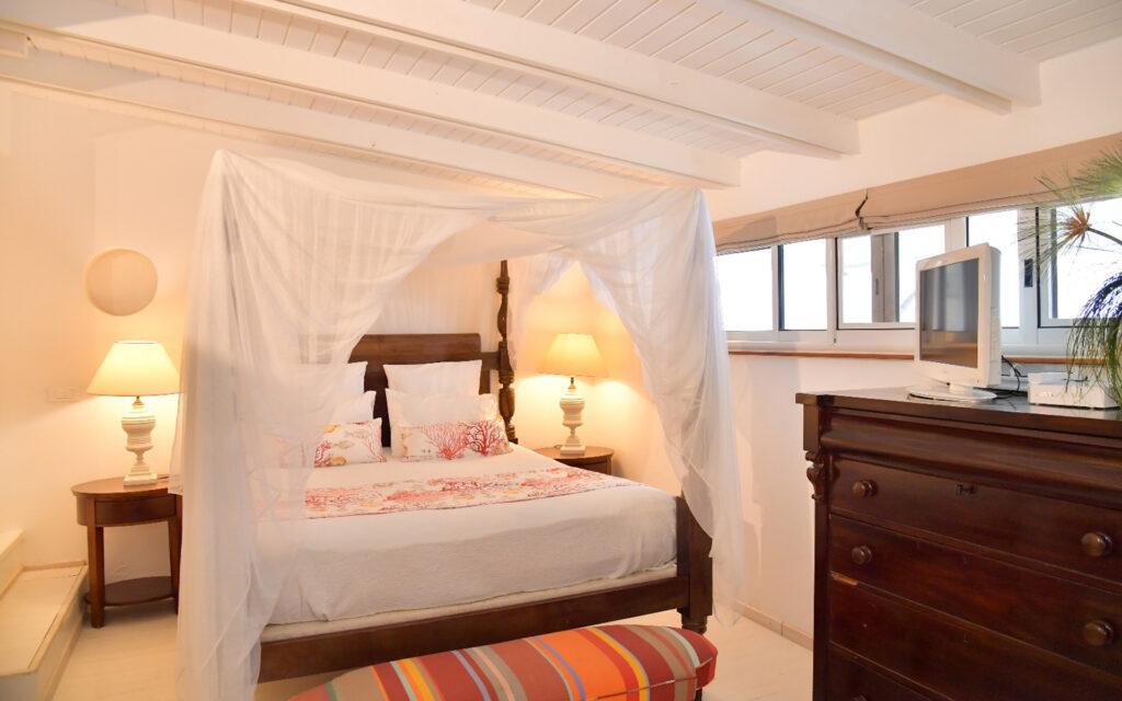 web villas du lagon villa paradise 0000 MAster bedroom Villa Paradise